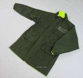 issue Jacket Reversible High Visibility Green/Yellow